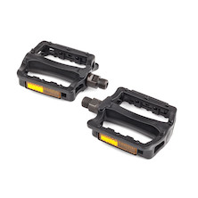 "Bike Smart 1/2"" BMX Flat Plastic Pedals"