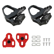 Exustar Clipless E-PR16 Pedals Including Cleats Compatible With Look Keo System