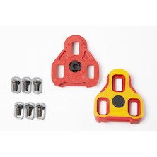 Jobsworth Keo Grip System Compatible Floating 7 Cleat Red / Yellow