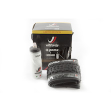 Vittoria MTB Goma Tyre 2 Pack With Free Camelbak Bottle