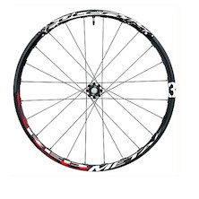 "Fulcrum Red Metal 3 26"" 6 Bolt 15mm Thru Front Wheel"
