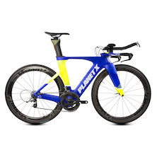 Planet X Exo3 Time Trial Bike  Small  Team Carnac With Vision Metron 55 Carbon Clincher Road Wheelset
