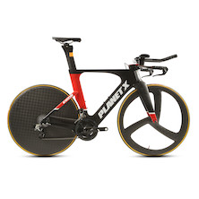 Planet X Exo 3 Time Trial Bike SRAM Etap Black And Red Large Ex Demo