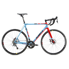 Planet X XLS Shimano Tiagra 4700 Carbon Cyclo Cross Bike / 59cm / Sky And Red / Used