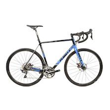 Planet X RTD-80 Shimano Ultegra R8000 Mix Mechanical Disc Road Bike XL Black/sky/white
