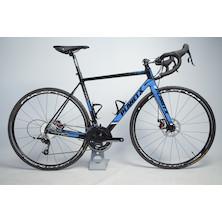 Planet X RTD-80 SRAM Rival 22 Mechanical Disc Road Bike Med BlackSkyWhite