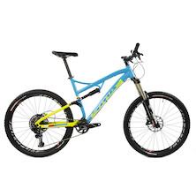 Titus El Viajero Gravity-Trail SRAM GX Eagle Mountain Bikel 27.5 Large  Azzuro Tech Green