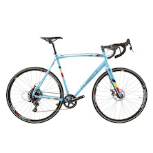 Planet X XLA SRAM Apex 1 Mechanical Disc Cyclocross Bike  X-Large  Belgium Blue