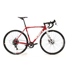Planet X XLA SRAM Apex 1 Mechanical Disc Cyclocross Bike Small  Fire Red