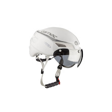 Carnac Equinox Air Aero Road Helmet / Black / Small / Medium (54-58cm) (Cosmetic Damage -No Visor)