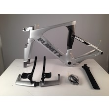 Planet X Exo3 Carbon TT Frameset / Small / Silver Shadow