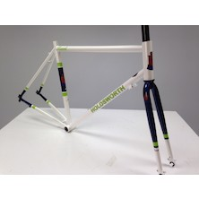 Holdsworth Brevet Endurance Frameset / Medium / Pearl White / Paint Chips