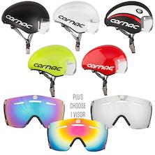 Carnac Kronus Time Trial Helmet And 1 Visor Bundle