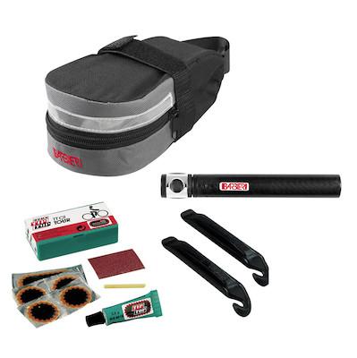 Barbieri SOS Saddle Bag With NANO Pump + Tirelevers + Patches