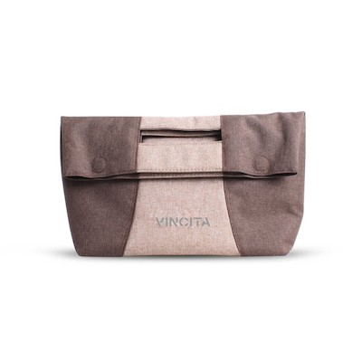Vincita Women's Front Handlebar Handbag With Magnetic Holder Straps And Klikfast Compatibility