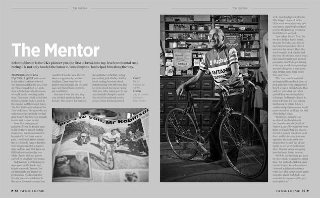 Cycling Legends 01, Tom Simpson Book