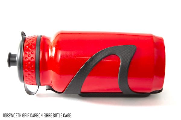 Jobsworth Grip Carbon Cage 3K Matte Black