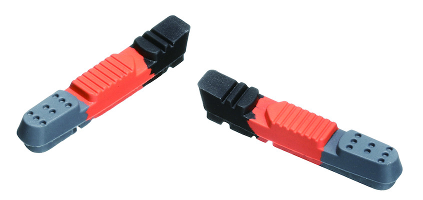 Jobsworth Triple Contour Replacement Racing Replacement Brake Shoes