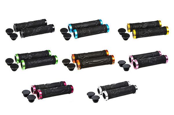 Aerozine Lock On Black Foam Grips
