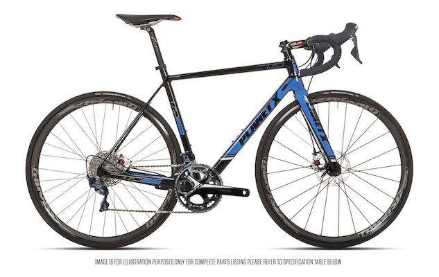 Planet X RTD-80 Shimano Ultegra R8000 Mix Mechanical Disc Road Bike