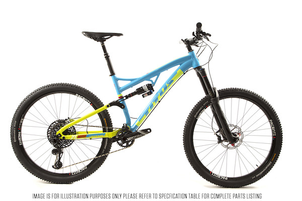 Titus El Viajero Trail SRAM GX Eagle Mountain Bike