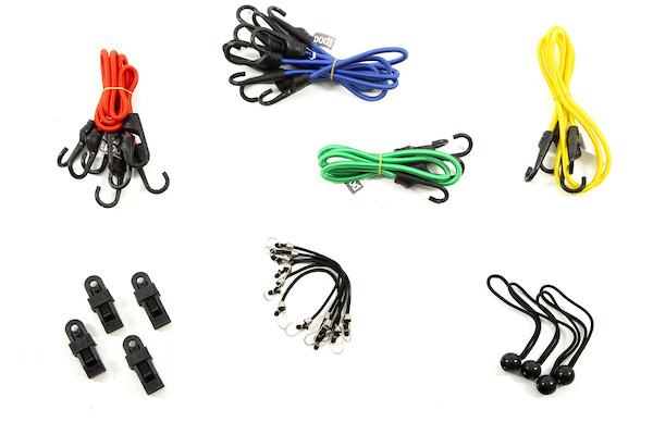PODSACS Premium Bungee Cord Set