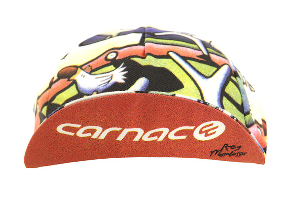 Carnac By Mombassa Cotton Cycling Cap Made By Apis