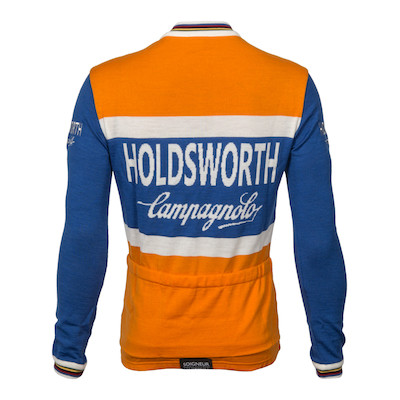 Holdsworth Long Sleeve Merino Jersey Made By Soigneur NZ