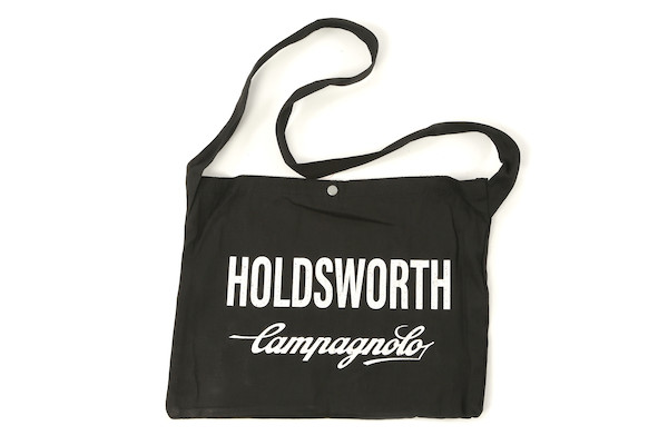 Holdsworth Team Edition Black Podium Canvas Musette