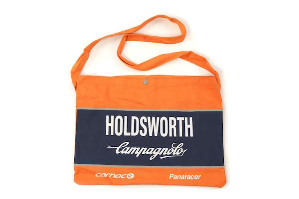 Holdsworth Team Edition Orange & Blue Podium Canvas Musette