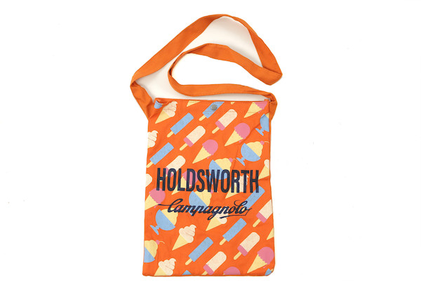 Holdsworth Orange Ice Cream Canvas Beach Bag