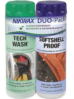 Nikwax Tech Wash / SoftShell Proof