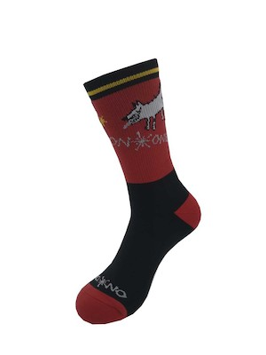 On-One Mom Dog High Top Thicky Merino Cycling Socks