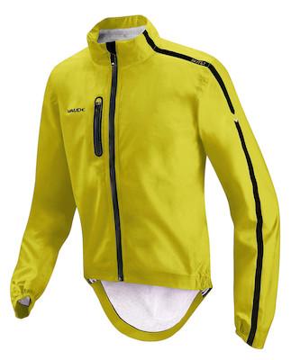 Vaude Sky Fly Emergency Waterproof Cycling Jacket / Lemon