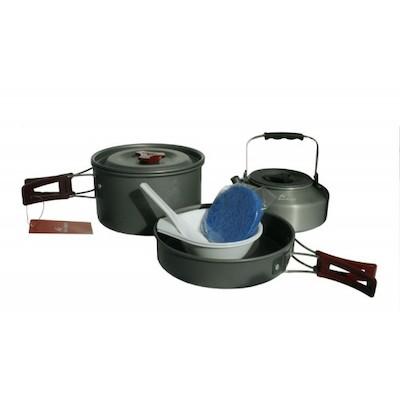 Fire-Maple FMC-204 2-3 Person Lightweight Aluminium Cookware Set