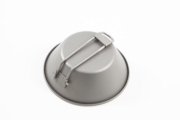Jobsworth Titanium 300ml Bowl With Foldable Handle