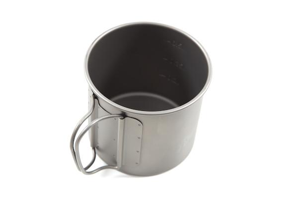 Jobsworth Titanium 600ml Titanium Mug