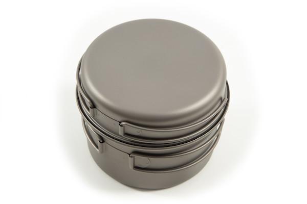 Jobsworth Titanium 800ml Pot Set