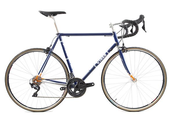 Viner Masimo Columbus Spirit Road Bike Ultegra R8000 Blue And Orange 57cm, USED