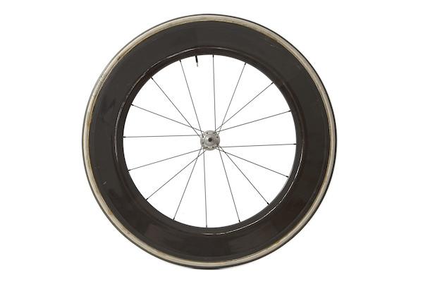 Team Boggo 82mm Deep Section Carbon Tubular Track Or Road Front Wheel