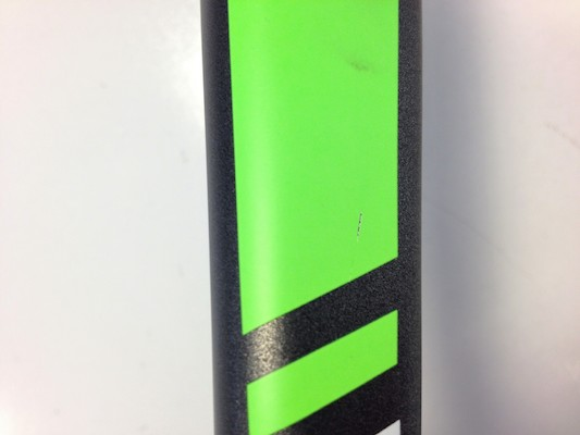 Planet X RT90 Carbon Fork / Carbon And Neon Green (Cosmetic Damage)