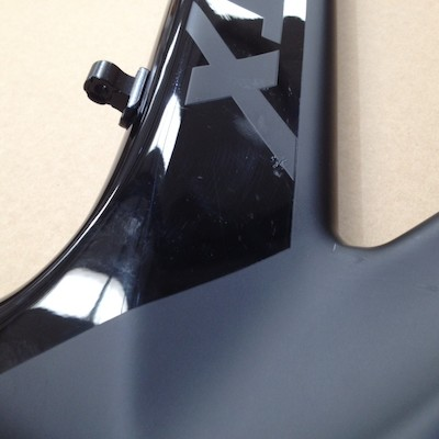 Planet X Stealth Pro Carbon Time Trial Frameset / XLarge / Jet Black / Cosmetic Paint Damage