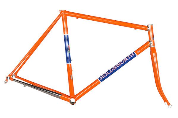 Holdsworth Professional Italia Stainless Frameset