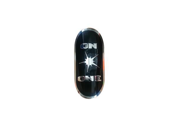 On-One Head Tube Badge For 1-1/8 Frame Black
