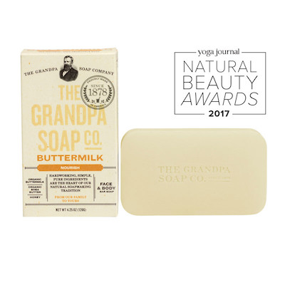 The Grandpa Soap Co Buttermilk Soap Bar
