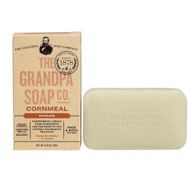 The Grandpa Soap Co Cornmeal Soap Bar