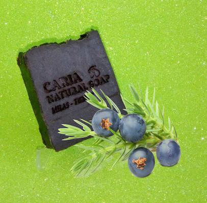 Caria Natural Juniper Tar Soap Bar