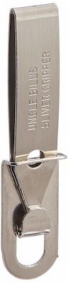Uncle Bill's Silver Gripper Keychain Tweezers