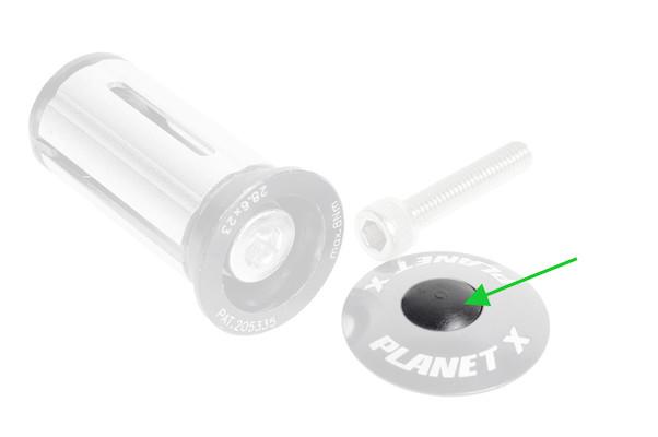 Planet X Headset Top Cap Rubber Bung Individual