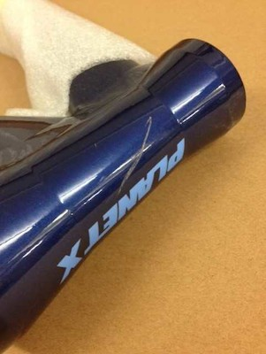 Planet X The Full Monty Alloy Gravel Frame / Medium / Midnight Blue / Scratched